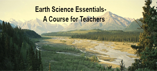 Braided Stream in Alaska--Earth Science Essentials--A Course for Teachers
